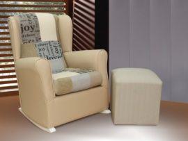 Si buscas una silla mecedora de lactancia para tu hogar, esta butaca con orejeras de tipo balancín te encantará. Además, gracias a sus medidas reducidas es idóneo para instalarlo en cualquier sitio. Disponible en varios colores a elegir.Puedes comple...