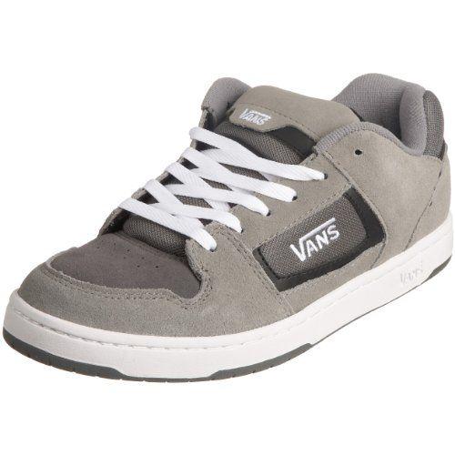 VANS Men Docket Skate Suede Leather Logo Shoes Grey/Charcoal/White (9.5) Vans http://smile.amazon.com/dp/B003U6YWBE/ref=cm_sw_r_pi_dp_n0MZwb1P6WNPW