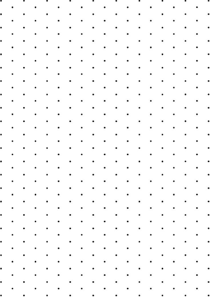 Isometric Paper - Dots