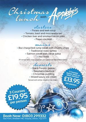 christmas menu 2014 menues coming soon here is what we offered in 2013