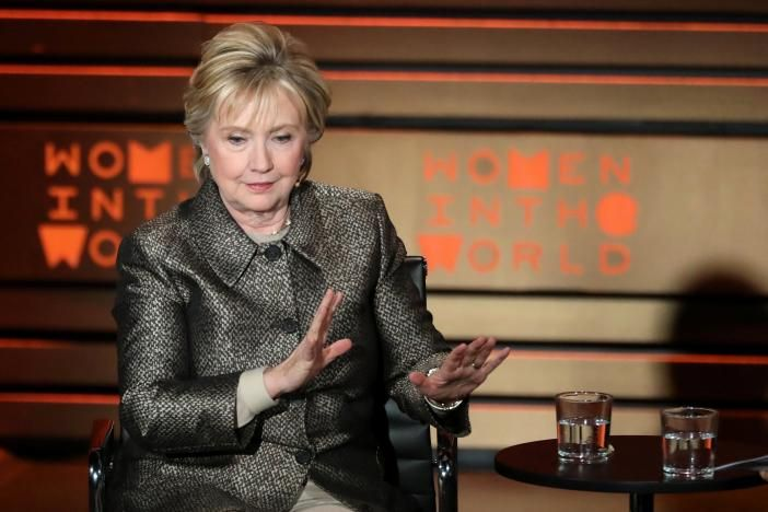 In her first interview since her stunning presidential election defeat by Republican rival Donald Trump, Hillary Clinton on Thursday called for the United States to bomb Syrian air fields.