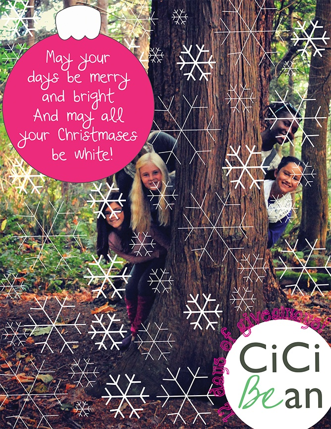 Happy Holidays from CiCi Bean!