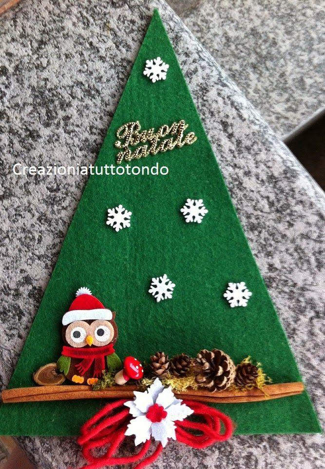 Ciao, buon sabato a tutti. Natale è sempre più vicino,  eccovi alcuni lavoretti pronti per addobbare l'albero  e decorare la casa. Avete già...