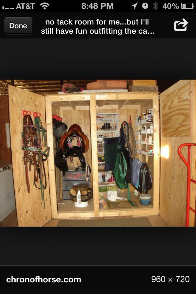 17 Best Images About Tack Locker Ideas On Pinterest