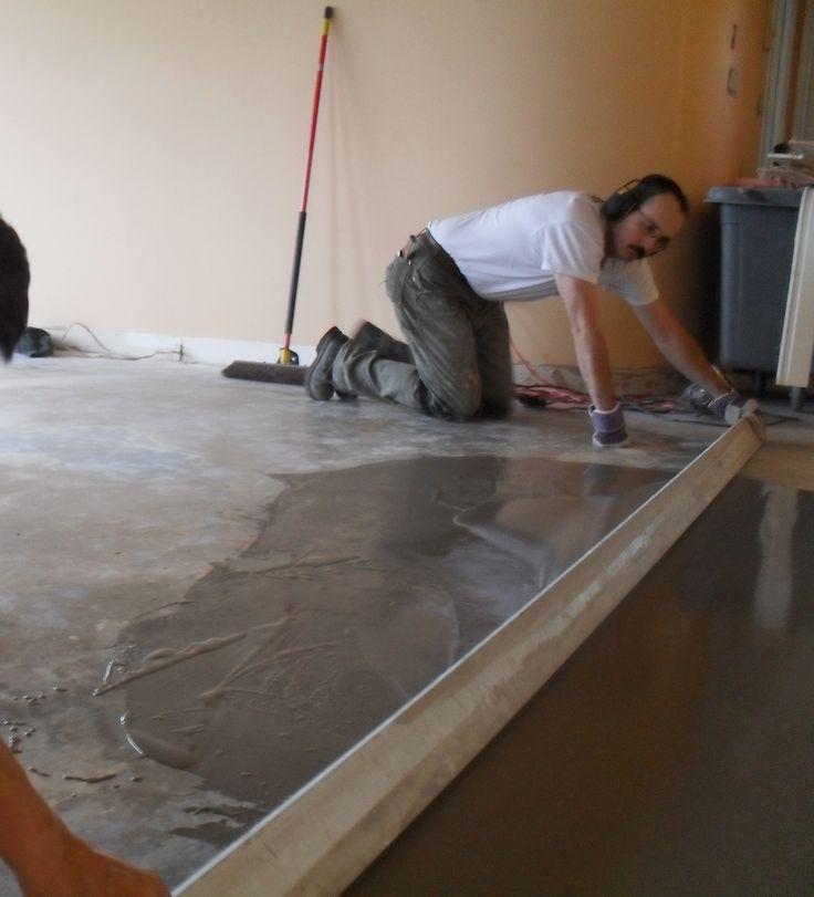 Floor flattening