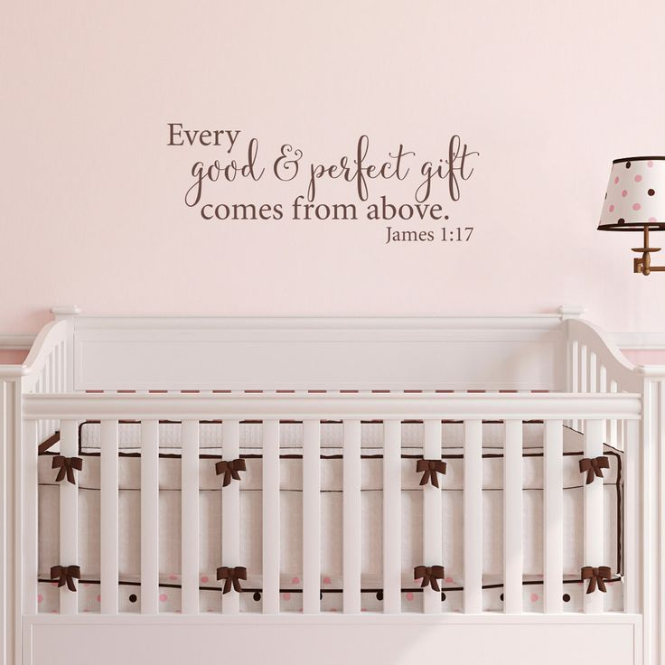 Quote Wall Stickers For Nursery : Best ideas about name above crib on