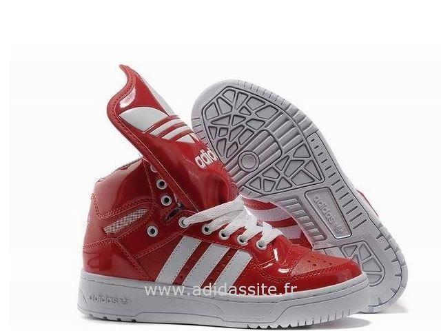 adidas obyo femmes rouge blanc jogging adidas femme