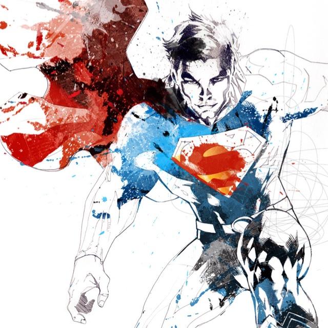 Superman by David despau