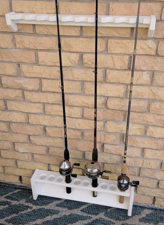 fishing pole holder rod rack