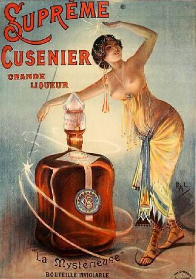 Soyouthinkyoucansee on tumblr- supreme Cusenier Grande Liqueur.French.