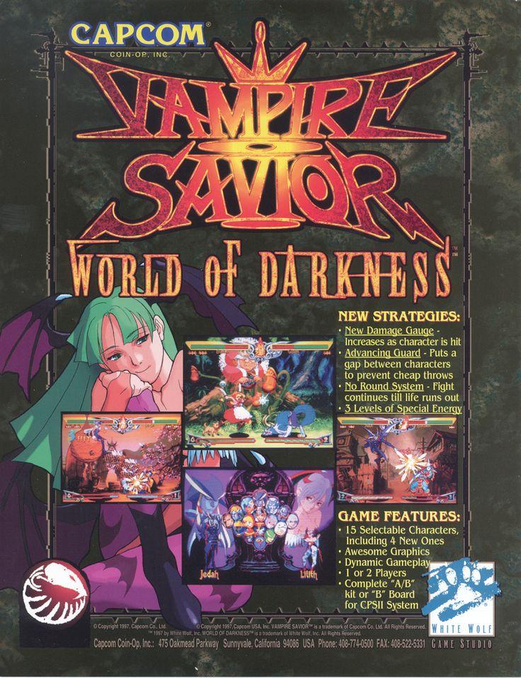 Vampire Savior World Of Darkness Retro gaming