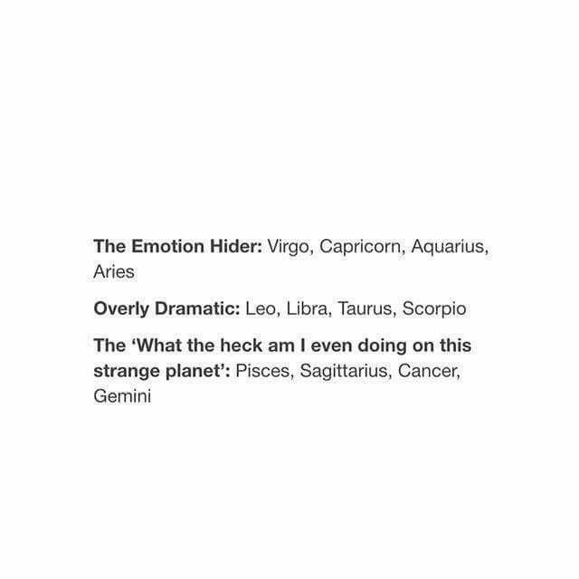 The..... #Zodiac
