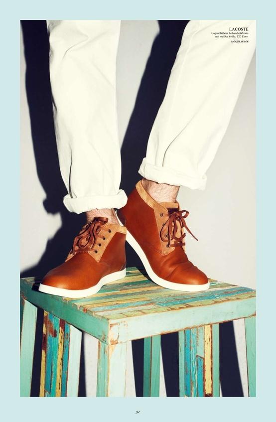 Lacoste erkek ayakkabılarıyla 2013' e hazır. Lacoste #buyaka