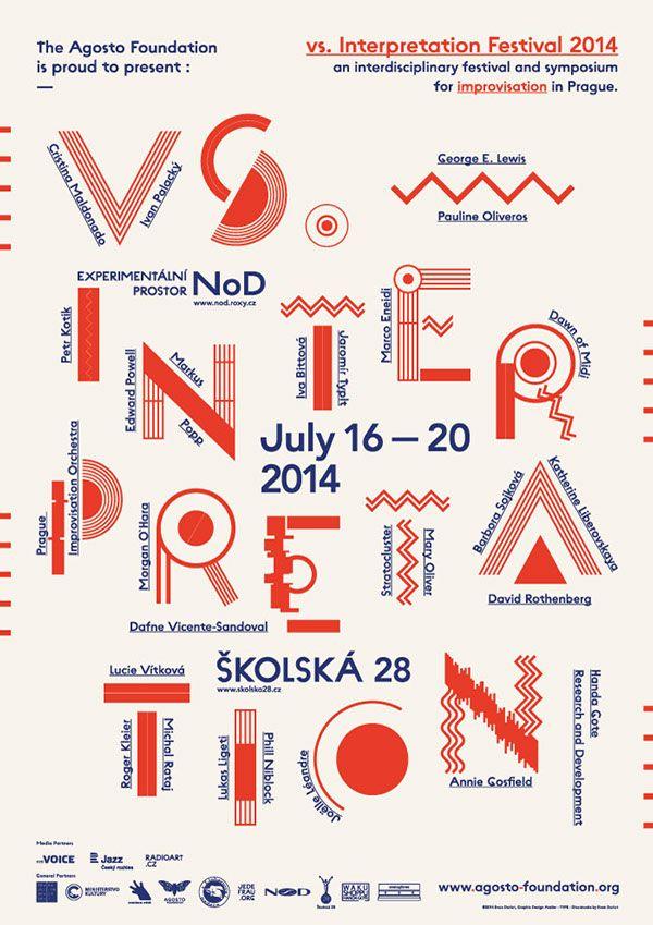vs. Interpretation / Festival of Improvisation 2014 on Behance