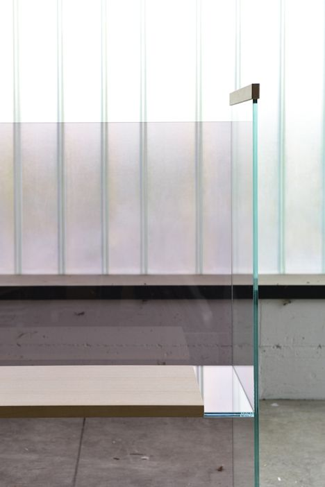 glass furniture by ronan and erwan bouroullec glass. Black Bedroom Furniture Sets. Home Design Ideas