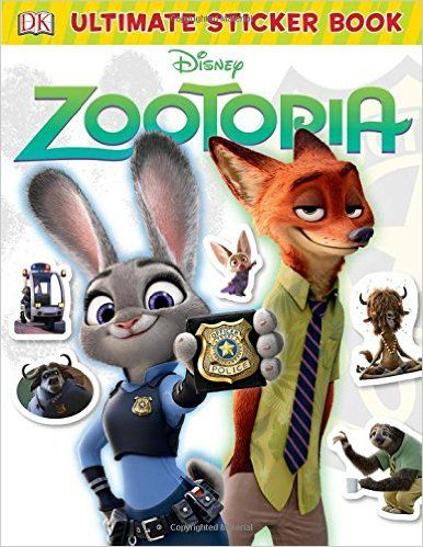 Ultimate sticker book disney zootopia dk ultimate sticker collections dk