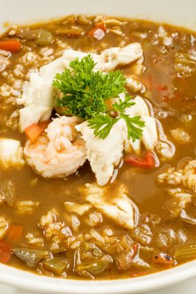 Tony's Crawfish Etouffee - I used crawfish & shrimp leftover from a crawfish boil and added some sausage.. If you do what I did, no need for all of the seasoning the recipe calls for. I started with 1TBS and added a little more for taste as I went.