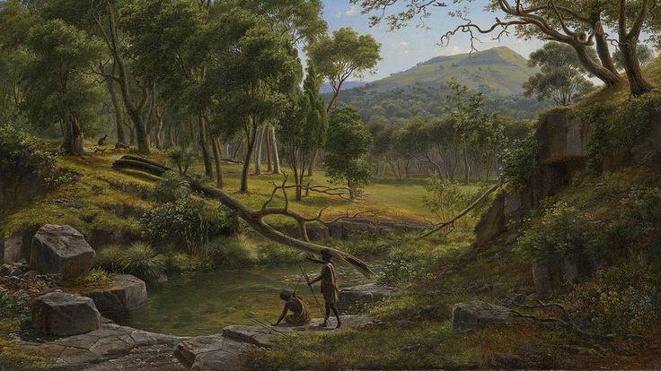 Eugene von Guerard, Warrenheip Hills near Ballarat (1854)