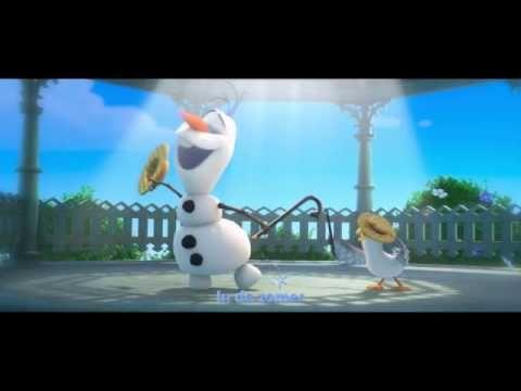 Frozen Sing-a-Long | In de Zomer | Vlaamse Versie