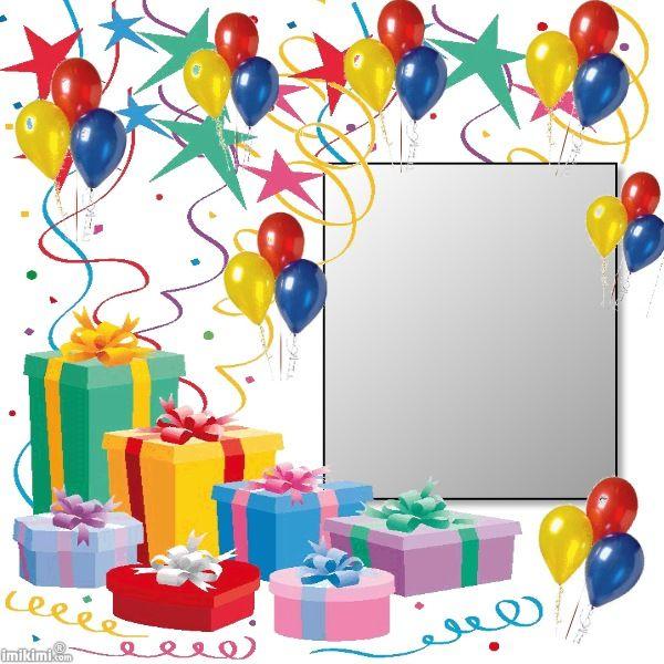 105 best Birthday Frames images on Pinterest   Birthday frames ...