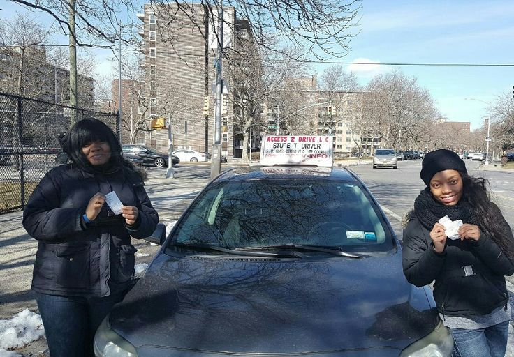 Akeema and Latoya from #brooklyn #newyork took packages with us and now both are #license to #drive. #access2drive #drivingschool #welovewhatwedo #teamaccess #learntodrive  Www.access2drive.com