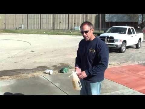 How to apply concrete Water Based Stain