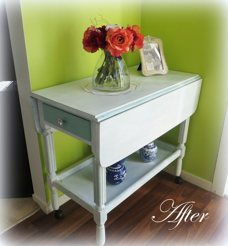 Recycled Tea Trolley at www.roseandsunday.co.nz