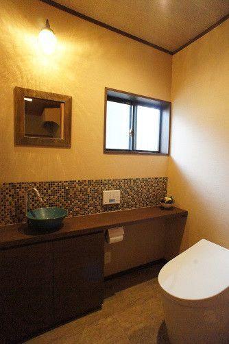 イメージ通り!和風レトロのトイレ空間に|「暮らしを楽しむ」女性目線のリフォーム なごみ工房