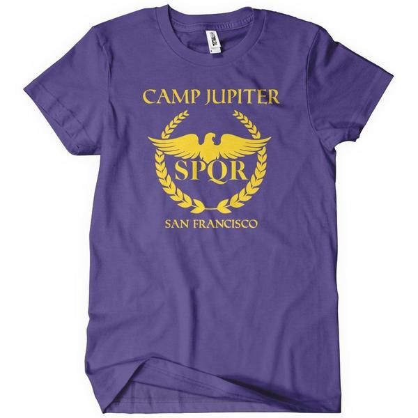 Camp Jupiter T-Shirt More Info Behind Camp Jupiter T-Shirt Camp Jupiter is a camp designated to protect and train the children of the Roman gods and their descendants. Its entrance is a service tunnel