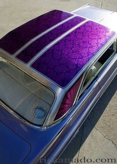 I love lace paint jobs but don't want panels...but my husband says its a must