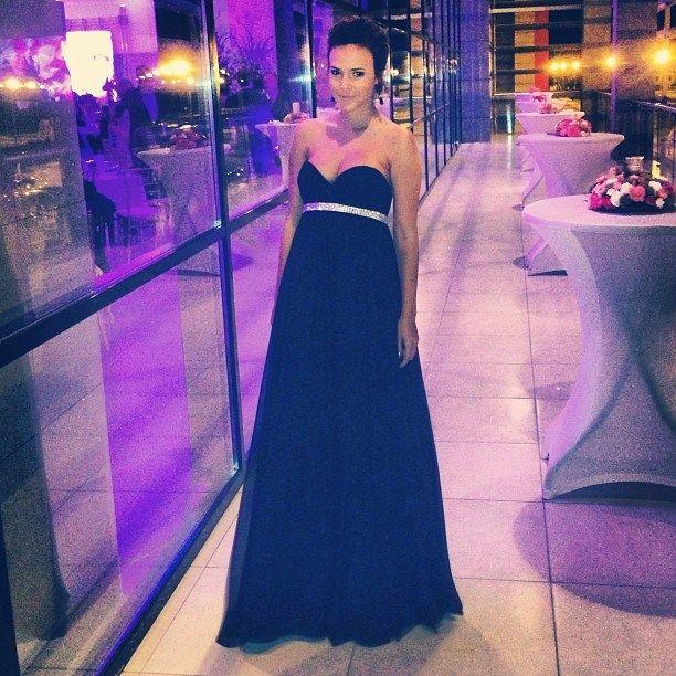 Sorana - black evening dress