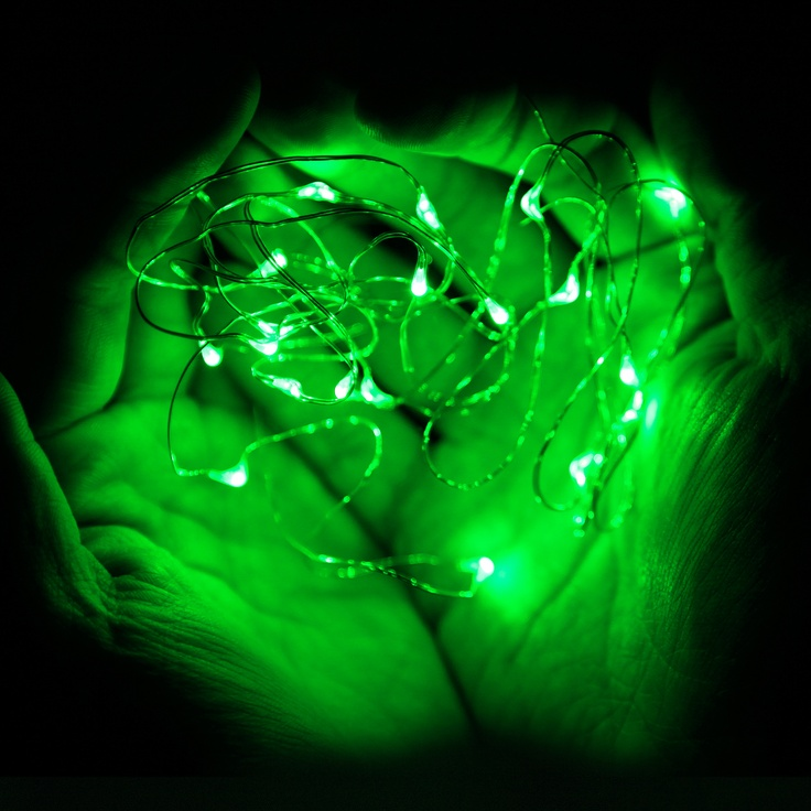 Led String Lights Long : 22 best images about Micro LED Lights - Battery Operated on Pinterest Green, Warm and Count