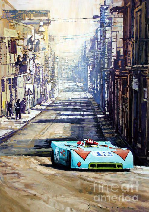 Targa Florio 1970 Porsche 908 Siffert