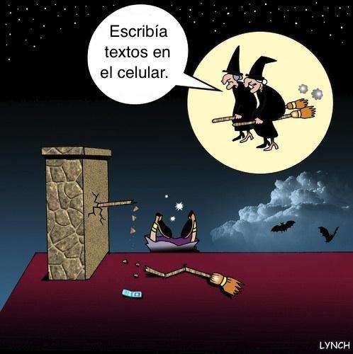 ¡Feliz Víspera del Día de Todos los Santos! ¡Y una Noche de Brujas sano y salvo!   el 31 de octubre