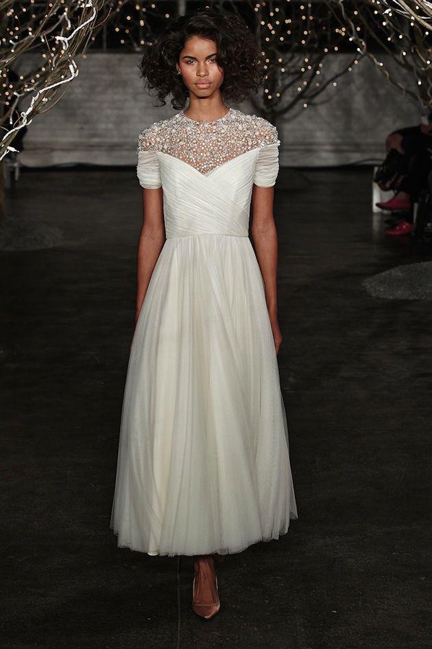 Jenny Packham Tea Length Wedding Dresses Pinterest