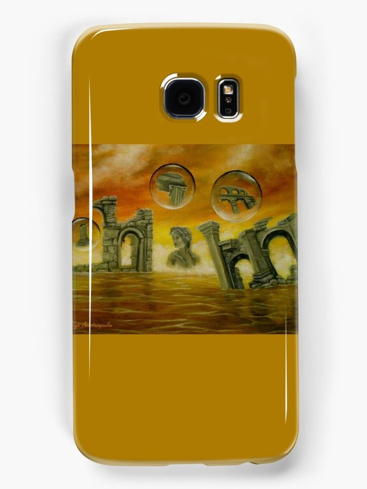 Galaxy Case,   temples,monuments,orange,golden,colorful,impressive,fantasy,cool,beautiful,unique,trendy,artistic,unusual,accessories,for sale,design,items,products,ideas,redbubble