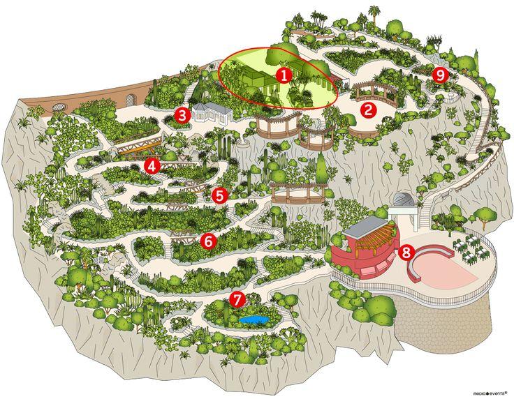 Visite virtuelle du Jardin Exotique - Jardin Exotique de Monaco - Grotte de l'observatoire - Musée d'Anthropologie - Mairie de Monaco