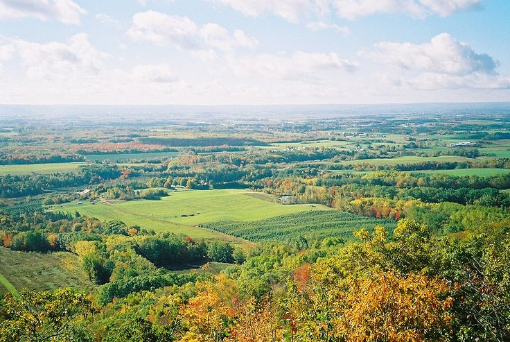 The Annapolis Valley (Apple Valley my kids used to call it)