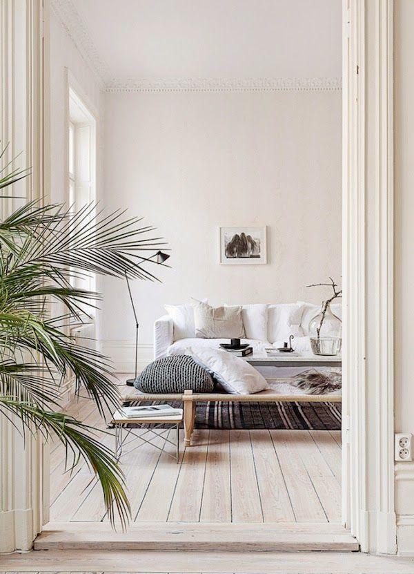 An elegant Swedish space in neutrals
