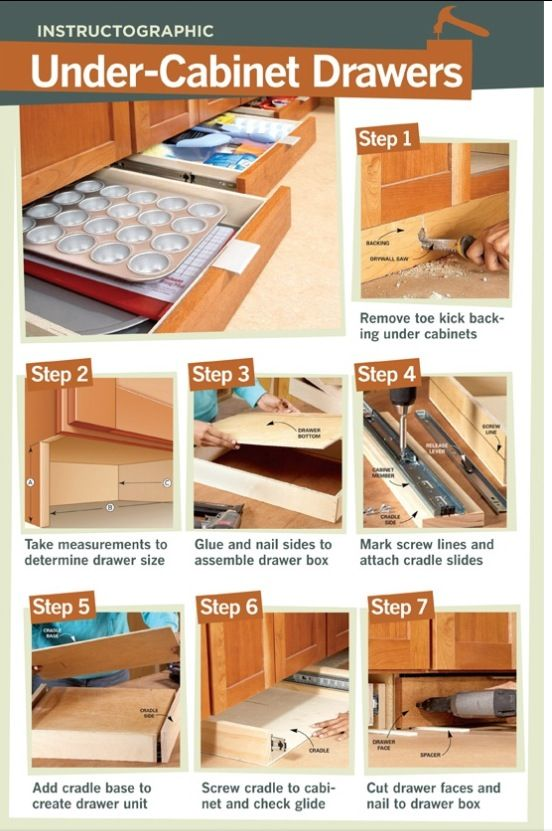24 best toe kick drawers kitchen images on Pinterest ...
