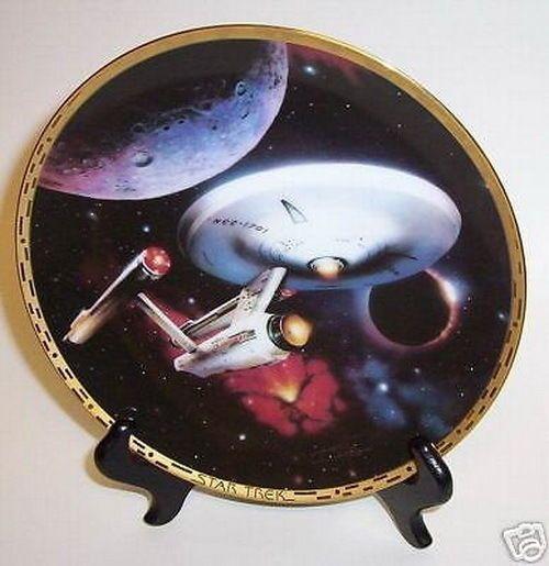 Star Trek Plate No.2565 E Voyagers U.S.S. Enterprise NCC-1701 No COA & 175 best Collectibles Plates images on Pinterest | Star trek ...
