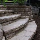 paver staircase