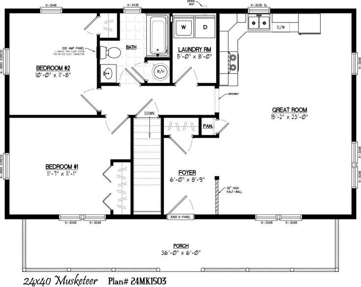 Amish Style House Plans