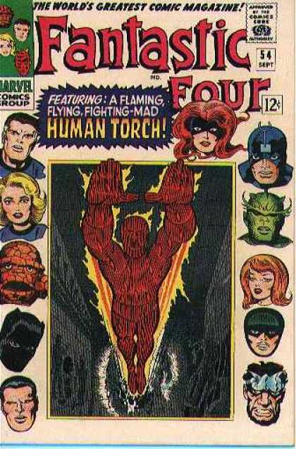 Fantastic Four 54 - Jack Kirby