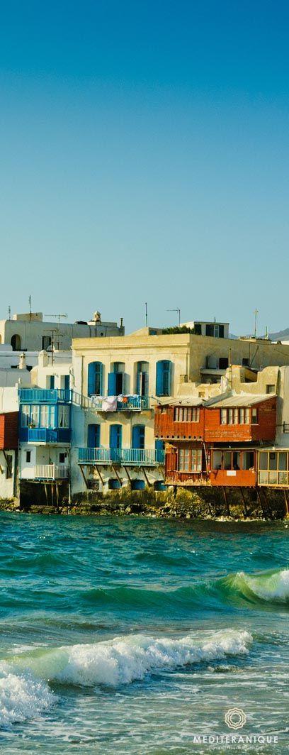 Little Venice, Mykonos. For luxury hotels in Mykonos visit http://www.mediteranique.com/hotels-greece/mykonos/