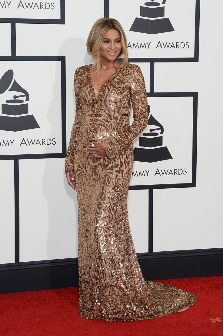Get Ciara's Grammys red carpet look!