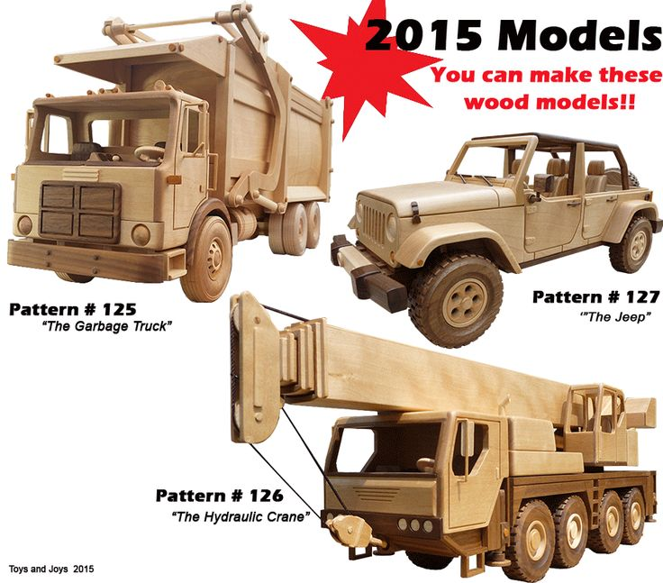 Toys Joys Wood Patterns : Best images about wooden vehicles on pinterest tow