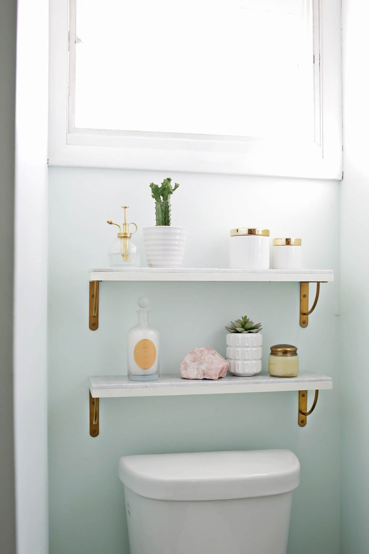 Bathroom floating shelves above toilet - Best 25 Shelves Above Toilet Ideas On Pinterest Half Bathroom