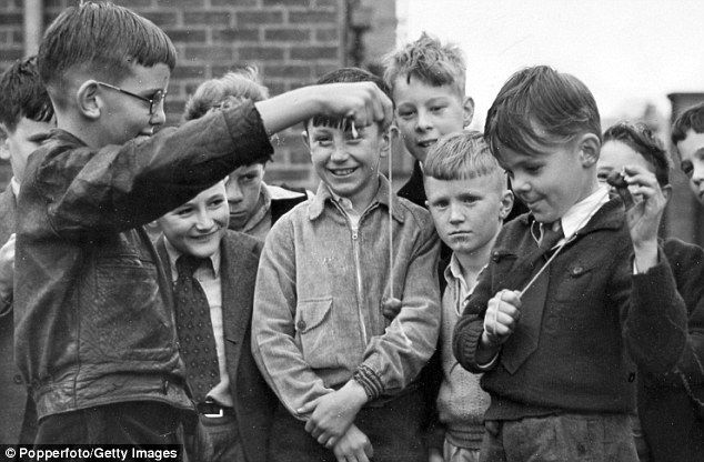 The magic of 1950s suburbia when socks were darned, baths shared and kids roamed wild | Mail Online