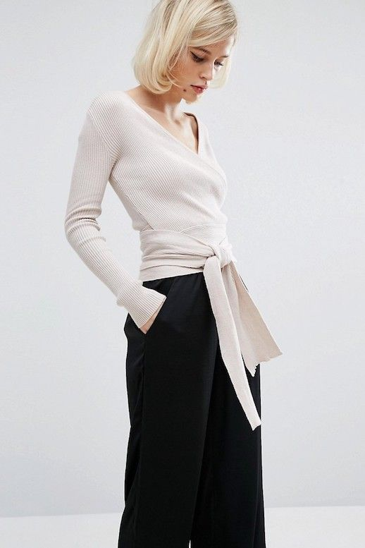 The Ballerina-Inspired Wrap Top We Love